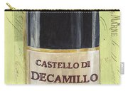 Chianti And Friends Panel 2 Carry-all Pouch