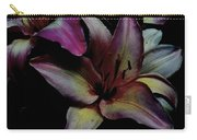 Chiaroscuro Lilies Carry-all Pouch