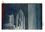 Chicago 4 Tall Shoulders Textured Carry-all Pouch