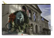 Chicago Art Institute Guardian Carry-all Pouch by Sebastian Musial