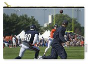 Chicago Bears Hc Marc Trestman Training Camp 2014 02 Carry-all Pouch