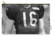 Chicago Bears P Patrick O'donnell Training Camp 2014 Bw Carry-all Pouch