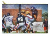 Chicago Bears P Patrick O'donnell Training Camp 2014 Photo Art 02 Carry-all Pouch
