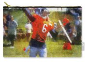Chicago Bears Qb Jay Cutler Training Camp 2014 04 Photo Art 02 Carry-all Pouch