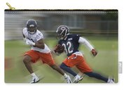 Chicago Bears Rb Michael Ford Moving The Ball Training Camp 2014 Carry-all Pouch