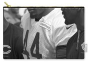 Chicago Bears S Adrian Wilson Training Camp 2014 Bw Carry-all Pouch
