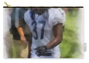 Chicago Bears S M J Jennings Training Camp 2014 Photo Art 01 Carry-all Pouch