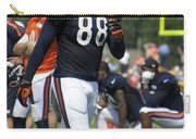 Chicago Bears Te Dante Rosario Training Camp 2014 02 Carry-all Pouch