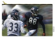 Chicago Bears Te Dante Rosario Training Camp 2014 03 Carry-all Pouch