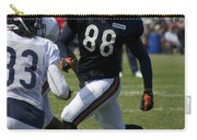 Chicago Bears Te Dante Rosario Training Camp 2014 04 Carry-all Pouch