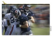 Chicago Bears Te Jeron Mastrud Moving The Ball Training Camp 2014 Carry-all Pouch