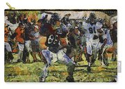 Chicago Bears Te Zach Miller Training Camp 2014 Pa 04 Carry-all Pouch
