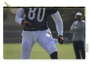 Chicago Bears Wr Armanti Edwards Training Camp 2014 03 Carry-all Pouch