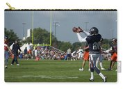 Chicago Bears Wr Armanti Edwards Training Camp 2014 08 Carry-all Pouch