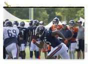 Chicago Bears Wr Brandon Marshall Training Camp 2014 05 Carry-all Pouch