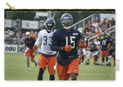 Chicago Bears Wr Brandon Marshall Training Camp 2014 06 Carry-all Pouch
