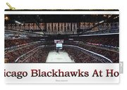 Chicago Blackhawks At Home Panorama White Carry-all Pouch