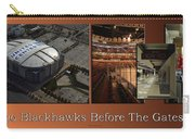 Chicago Blackhawks Before The Gates Open Interior 2 Panel Tan 01 Carry-all Pouch