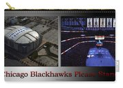 Chicago Blackhawks Please Stand 2 Panel Sb Carry-all Pouch