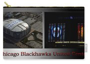 Chicago Blackhawks United Center 2 Panel Sb Carry-all Pouch