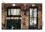 Chicago Brick Facade Grunge Carry-all Pouch