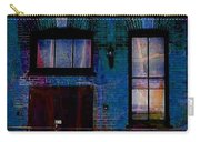 Chicago Brick Facade Night Moves Carry-all Pouch