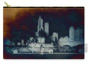 Chicago Buckingham Fountain Northside Textured Carry-all Pouch