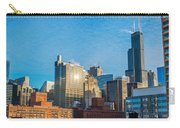 Chicago Cityscape During The Day Carry-all Pouch