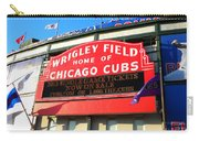 Chicago Cubs Marquee Sign Carry-all Pouch
