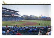 Chicago Cubs Pregame Time Panorama Carry-all Pouch