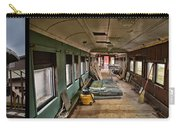 Chicago Eastern Il Rr Car Restoration With Blue Print Carry-all Pouch