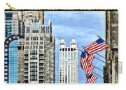 Chicago - Flags Along Michigan Avenue Carry-all Pouch
