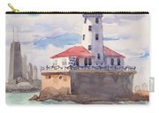 Chicago Harbor Light Carry-all Pouch