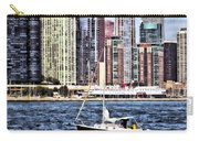 Chicago Il - Sailing On Lake Michigan Carry-all Pouch