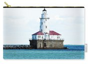 Chicago Illinois Harbor Lighthouse Close Up Usa Carry-all Pouch