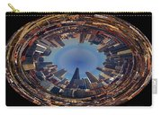 Chicago Looking East Polar View Carry-all Pouch by Thomas Woolworth