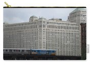 Chicago Merchandise Mart And Cta El Train Carry-all Pouch
