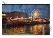 Chicago Navy Pier At Night Carry-all Pouch