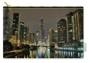 Chicago Night River View Carry-all Pouch