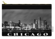 Chicago Panorama At Night Carry-all Pouch