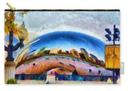 Chicago Reflected Carry-all Pouch by Jeff Kolker