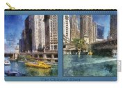 Chicago River 2 Panel Carry-all Pouch