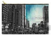 Chicago River Hdr Sc Textured Carry-all Pouch