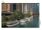 Chicago River Tour Boats Carry-all Pouch