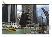 Chicago River Walk Construction Carry-all Pouch