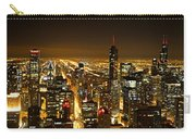 Chicago Skyline At Night I Carry-all Pouch