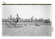 Chicago Skyline Hard Ink Carry-all Pouch