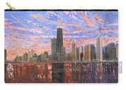 Chicago Skyline - Lake Michigan Carry-all Pouch