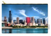 Chicago Skyline Panorama Carry-all Pouch