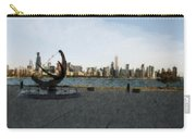 Chicago Skyline Water Color1 Carry-all Pouch